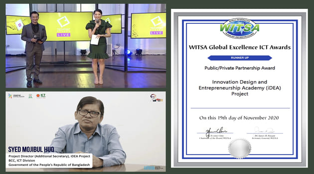 The iDEA project received international recognition